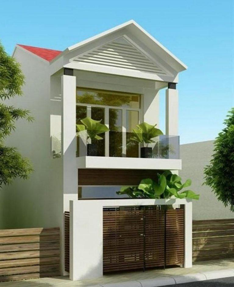 mẫu nhà 2 tầng mái thái đẹp 8
