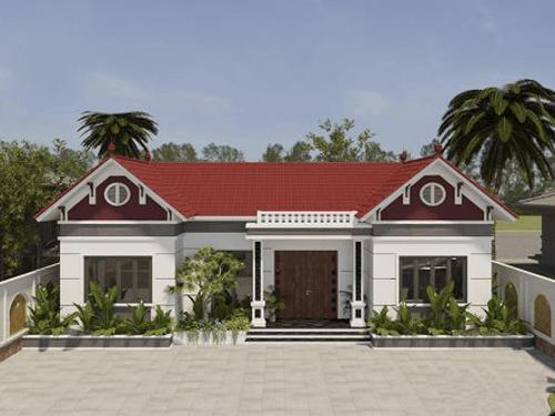 10 Mẫu nhà 3 gian hiện đại đẹp ở nông thôn nhiều người mơ ước