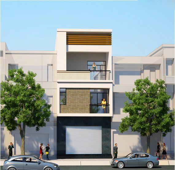 mẫu nhà 3 tầng đẹp thiết kế sang trọng 3