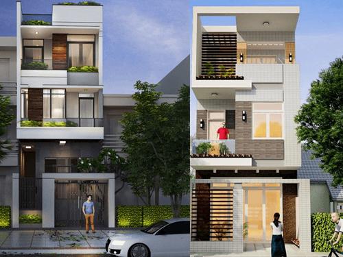Mẫu nhà 3 tầng đẹp sang trọng đang gây sự chú ý gần đây