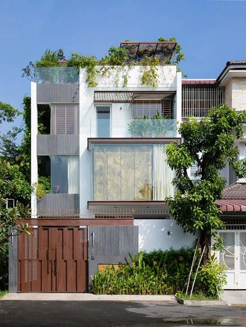 mẫu nhà 3 tầng mặt tiền 7m 15