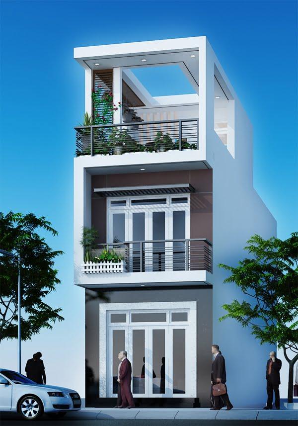 mẫu nhà 5x20 2 tầng 11