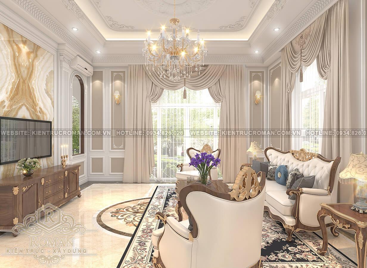 mẫu nhà biệt thự 3 tầng đẹp 4
