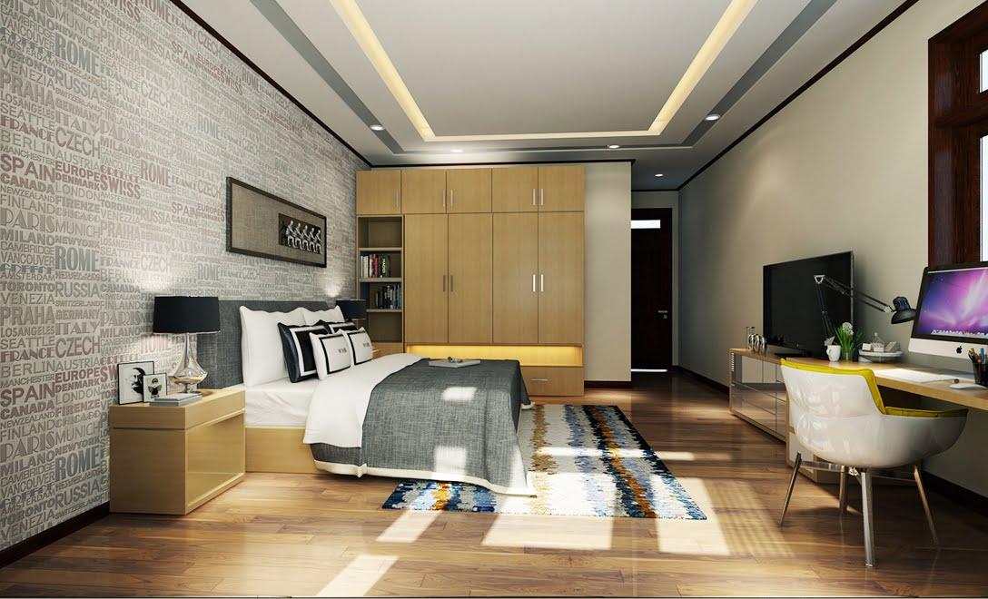 mẫu nhà biệt thự 3 tầng đẹp sang trọng 10