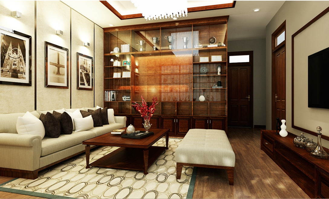 mẫu nhà biệt thự 3 tầng đẹp sang trọng 6