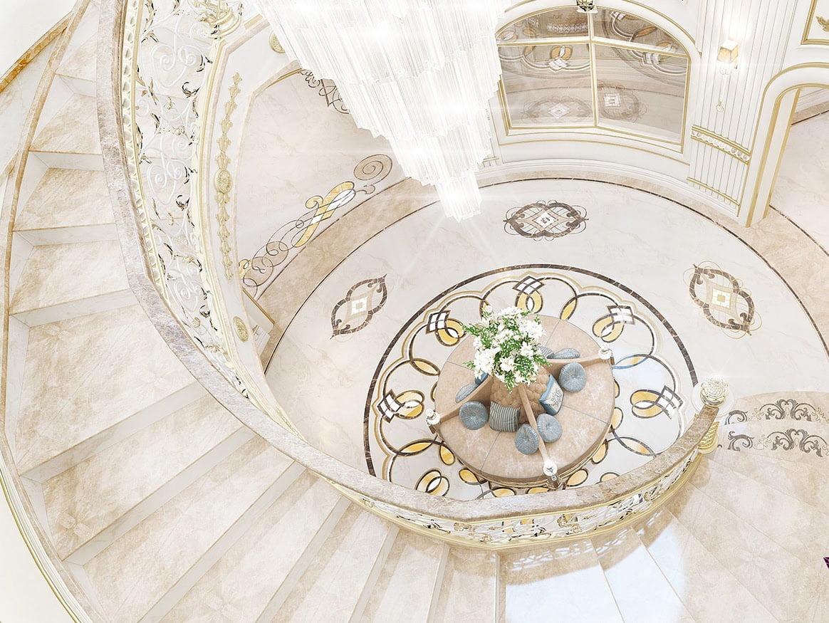 mẫu nhà biệt thự đẹp 3 tầng