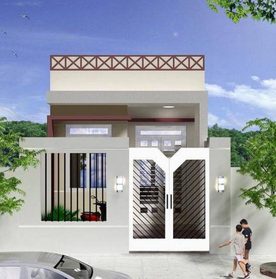 mẫu thiết kế nhà 1 tầng 3 phòng ngủ đẹp 17