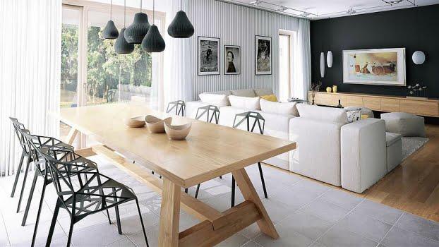 thiết kế nội thất mẫu nhà cấp 4 theo phong cách châu âu
