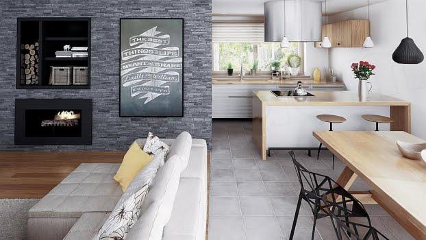thiết kế nội thất mẫu nhà cấp 4 theo phong cách châu âu 3
