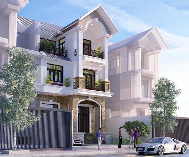 các mẫu nhà đẹp 2 tầng 1 tum phù hợp cho mọi gia đình 8