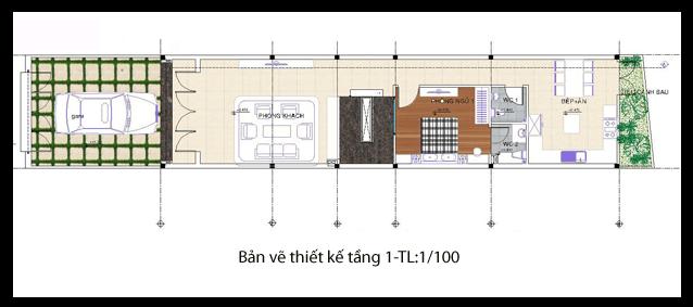 các mẫu nhà đẹp 2 tầng 1 tum phù hợp cho mọi gia đình 2
