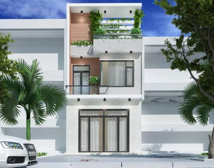 các mẫu nhà đẹp 2 tầng 1 tum phù hợp cho mọi gia đình 7