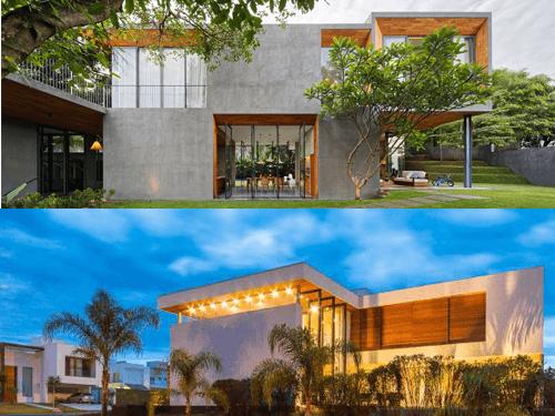 Các mẫu nhà đẹp 2 tầng thiết kế hiện đại mê hoặc người nhìn
