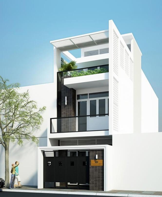 Mẫu nhà đẹp 3 tầng thiết kế ấn tượng xu hướng mới cho năm 2019 9