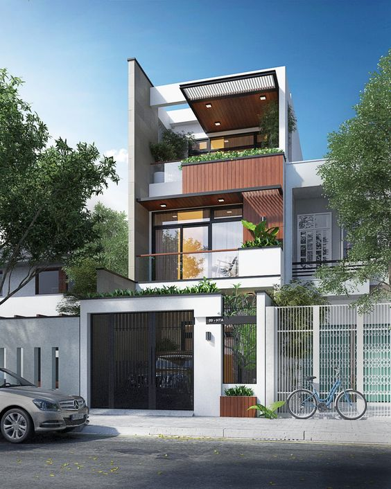 Mẫu nhà đẹp 3 tầng thiết kế ấn tượng xu hướng mới cho năm 2019 14