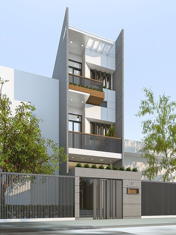 Mẫu nhà đẹp 3 tầng thiết kế ấn tượng xu hướng mới cho năm 2019 15