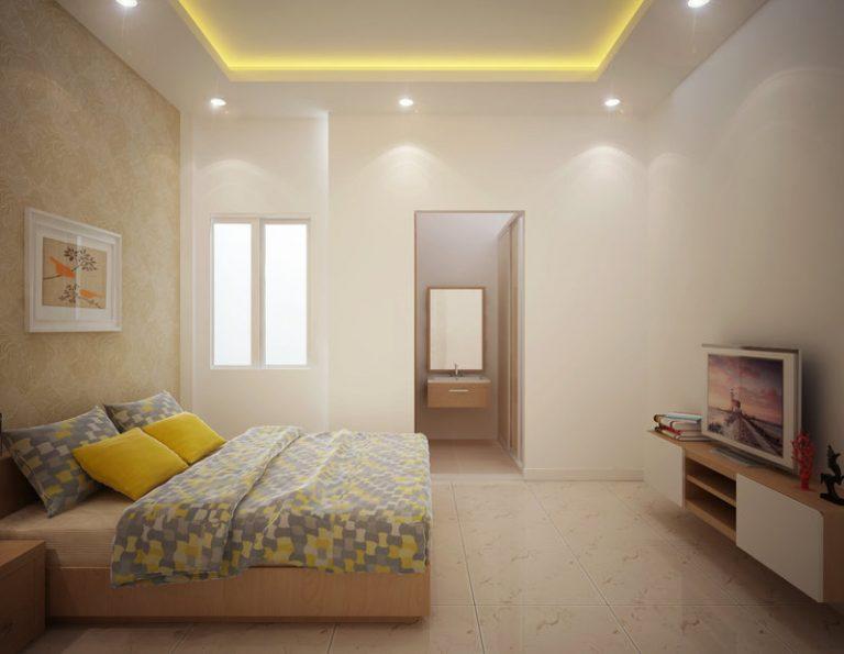 phòng ngủ mẫu nhà đẹp 3 tầng tiện nghi sang trọng