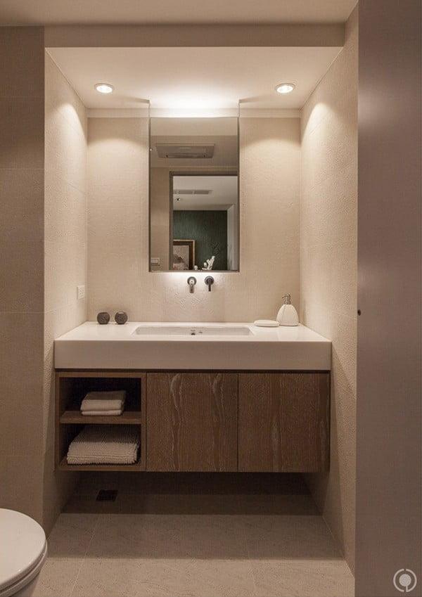 phòng tắm mẫu nhà đẹp 3 tầng