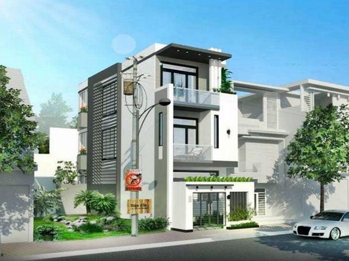 Mẫu nhà đẹp 3 tầng thiết kế ấn tượng xu hướng mới cho năm 2019 4