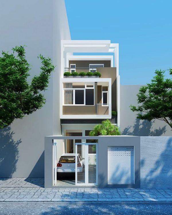 Mẫu nhà đẹp 3 tầng thiết kế ấn tượng xu hướng mới cho năm 2019 6