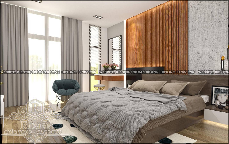phòng ngủ mẫu nhà đẹp 4x18 sang trọng tại quận 8