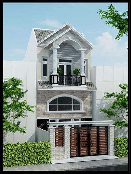 mẫu nhà đẹp 4x18 2 tầng 3 tầng hiện đại nhất hiện nay 1