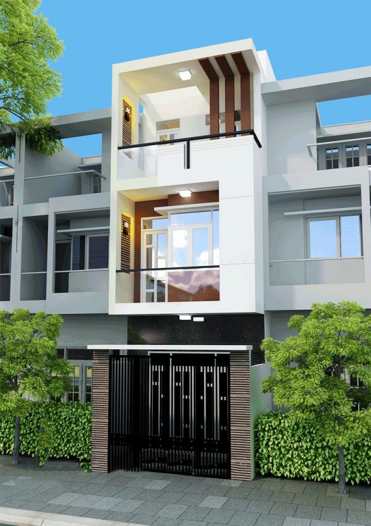 mẫu nhà đẹp 4x18 2 tầng 3 tầng hiện đại nhất hiện nay 9