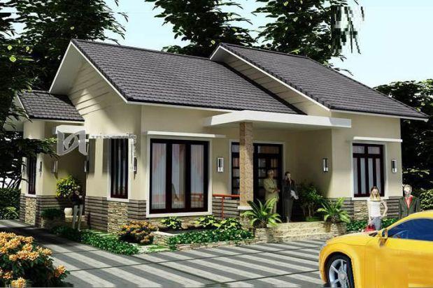 mẫu nhà mái thái 1 tầng đẹp 9