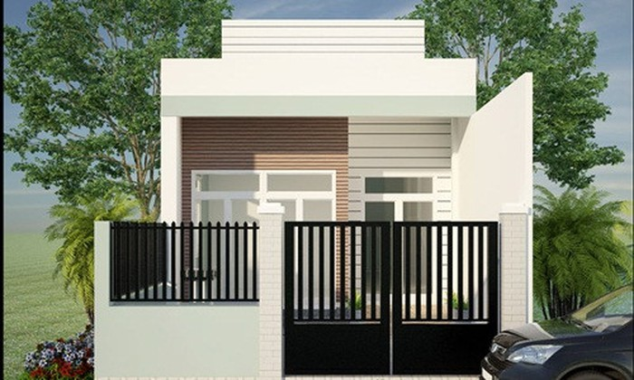 mẫu nhà 1 tầng đơn giản đẹp 3