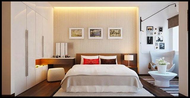 phòng ngủ mẫu nhà ống 2 tầng đẹp