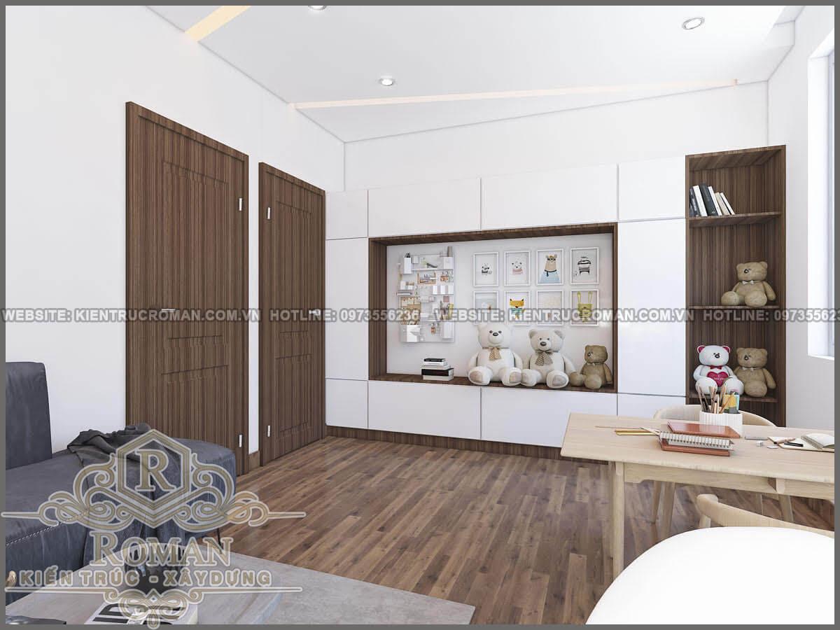 phòng sinh hoạt chung mẫu nhà đẹp 3 tầng
