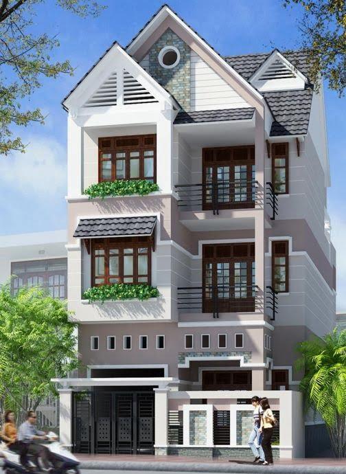 xu hướng mẫu nhà 3 tầng đẹp thiết kế ấn tượng 8