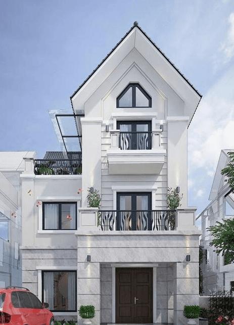 xu hướng mẫu nhà 3 tầng đẹp thiết kế ấn tượng 9