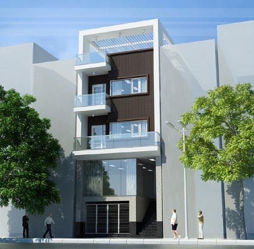 xu hướng mẫu nhà phố đẹp3 tầng đẹp thiết kế ấn tượng 2