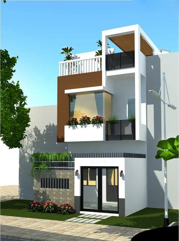 xu hướng mẫu nhà 3 tầng đẹp thiết kế ấn tượng 4