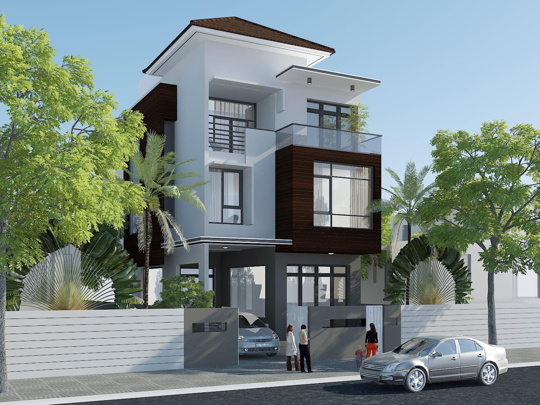 xu hướng mẫu nhà 3 tầng đẹp thiết kế ấn tượng 5