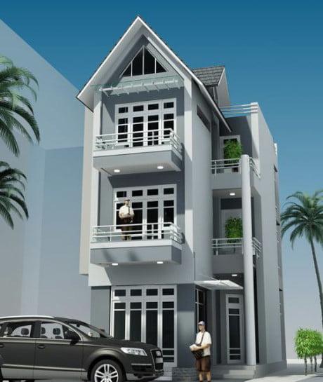 xu hướng mẫu nhà 3 tầng đẹp thiết kế ấn tượng 7