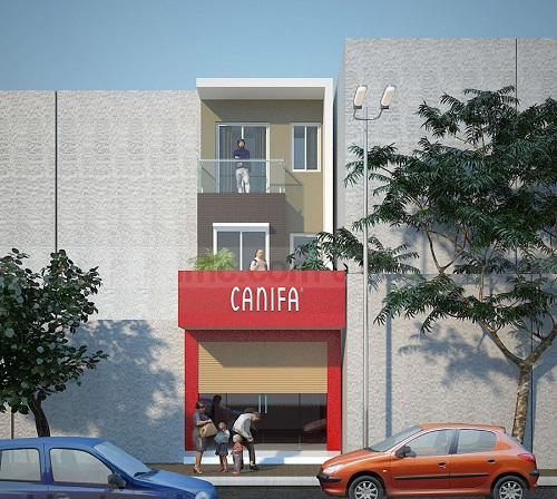 thiết kế nhà mặt phố kinh doanh đẹp ai cũng muốn xây 1