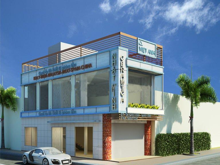 thiết kế nhà mặt phố kinh doanh đẹp ai cũng muốn xây 3