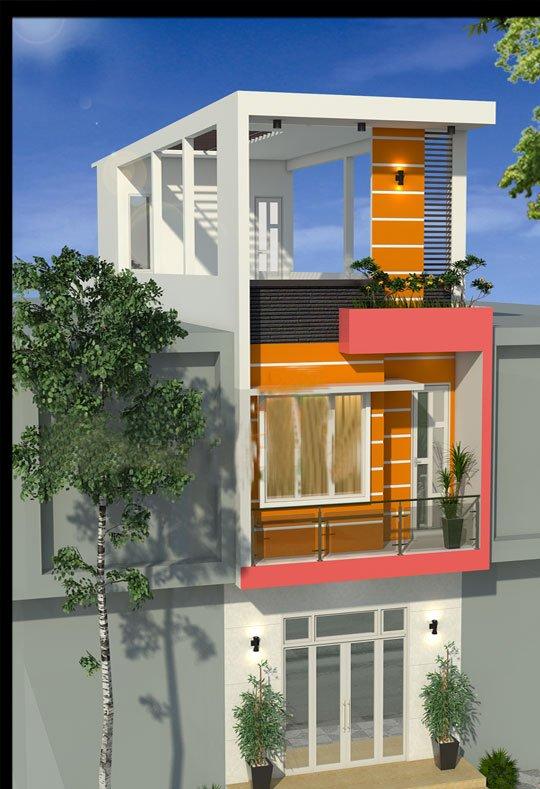 thiết kế nhà mặt phố kinh doanh đẹp ai cũng muốn xây 6