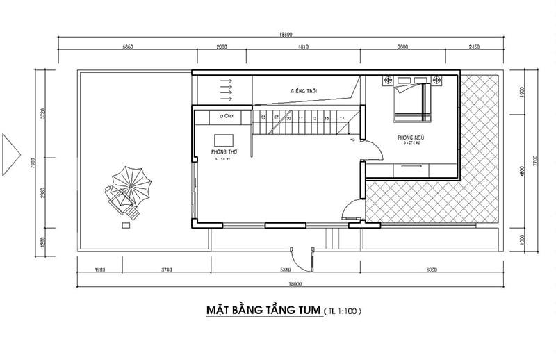 mẫu nhà phố mặt tiền rộng 8m 25