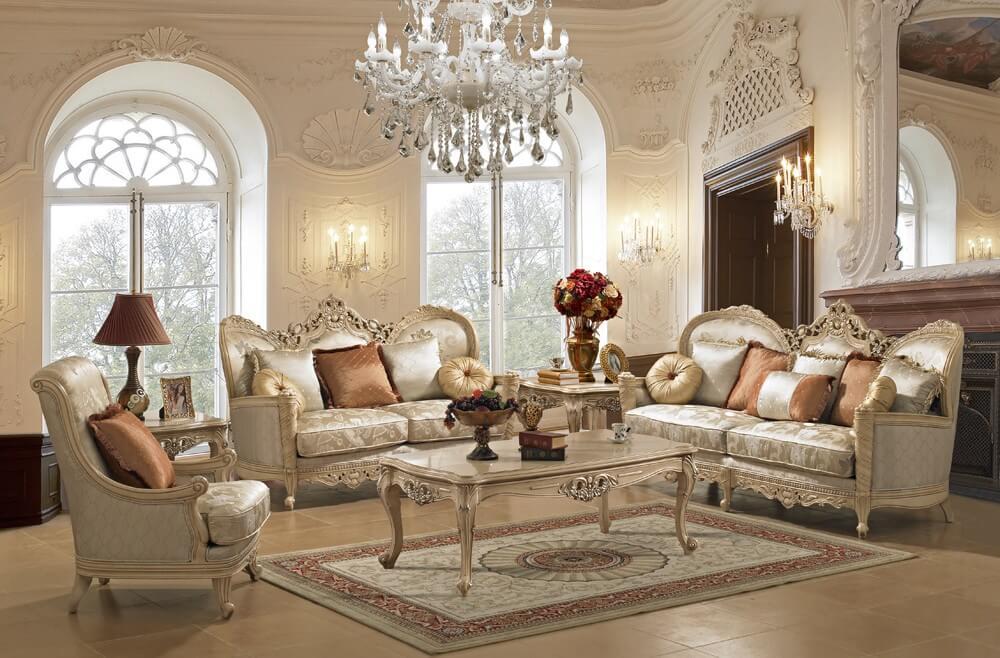 mẫu phòng khách cổ điển