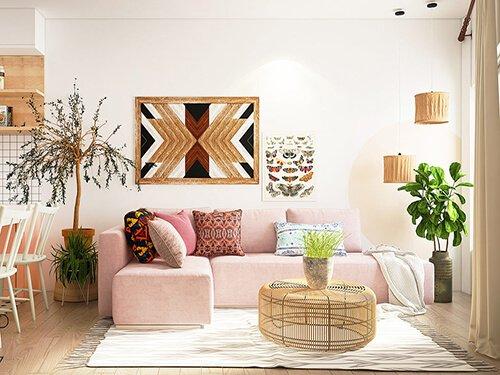 mẫu phòng khách đẹp hiện đại