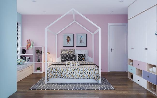 mẫu phòng ngủ đẹp cho bé gái 1