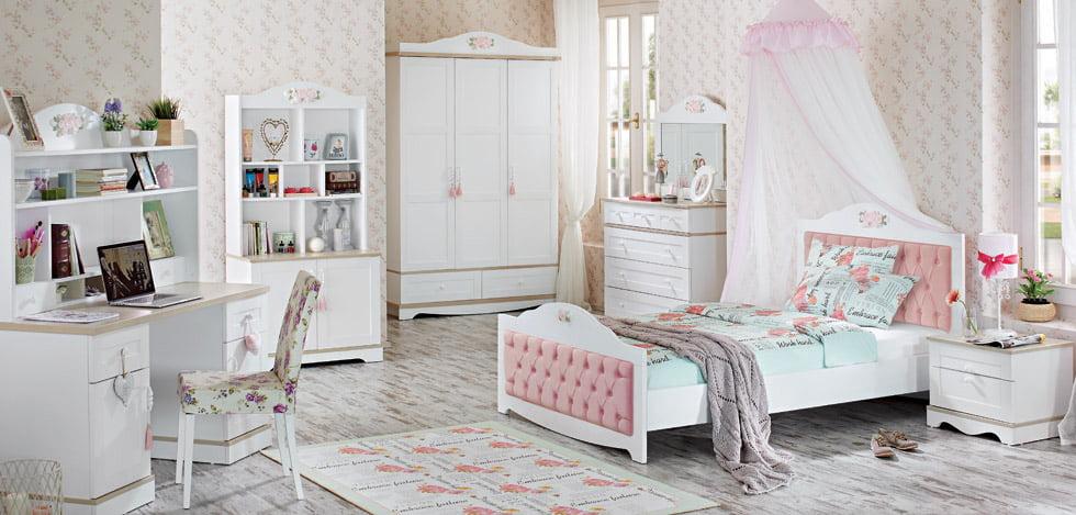 mẫu phòng ngủ đẹp cho bé gái 18
