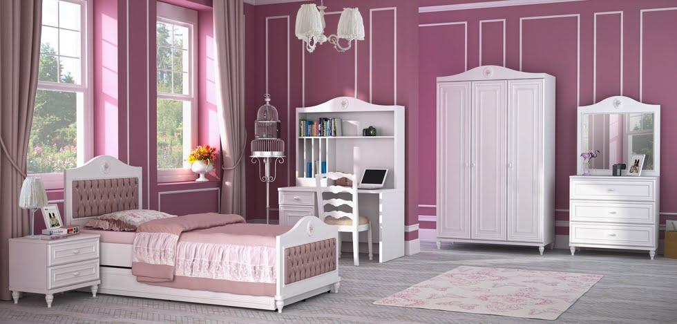 mẫu phòng ngủ đẹp cho bé gái 19