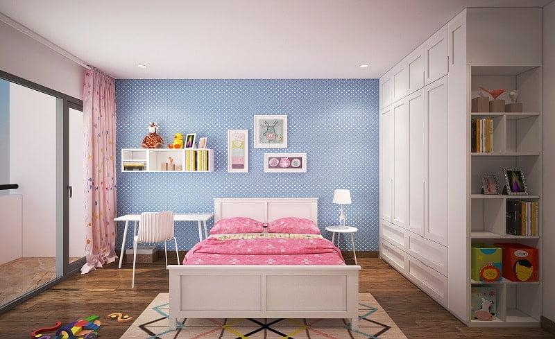 mẫu phòng ngủ đẹp cho bé gái 3