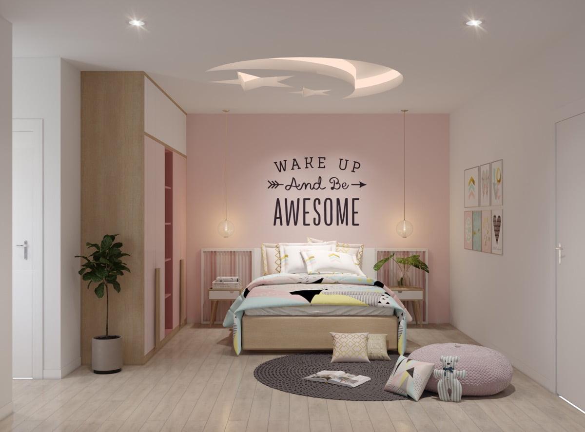 mẫu phòng ngủ đẹp cho bé gái 5