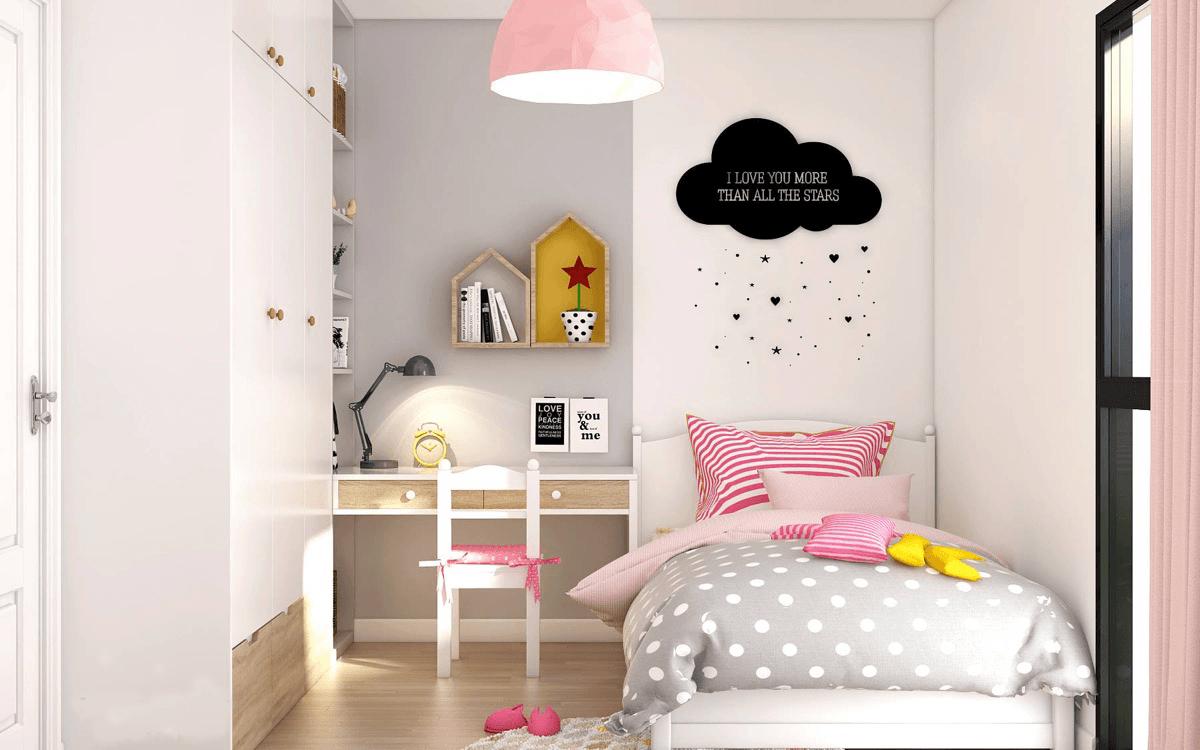 mẫu phòng ngủ đẹp cho bé gái 9