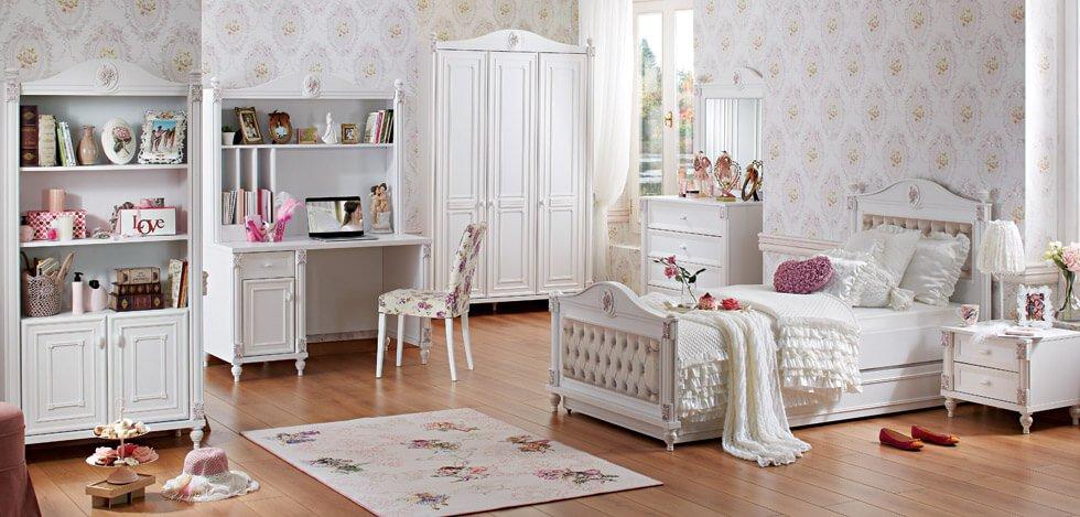 mẫu phòng ngủ trẻ em đẹp phong cách cổ điển 01